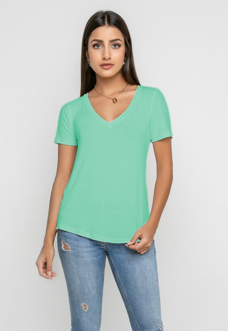 T-Shirt Rineli Ana - Verde Acqua