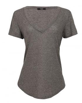 T-shirt Ana - Cinza Mescla