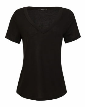 T-shirt Rineli Ana - Preta