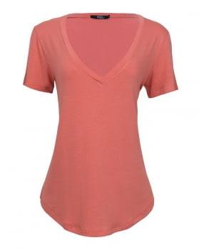T-shirt Rineli Ana - Papaya