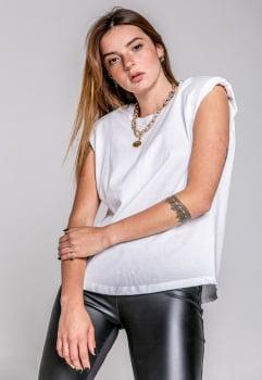 Blusa Rineli Muscle - Branca