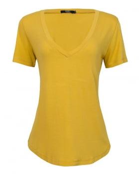 T-shirt Rineli Ana - Mostarda