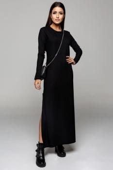 Vestido Rineli Longuete - Preto