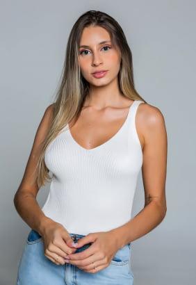 Cropped Priscila - Branco