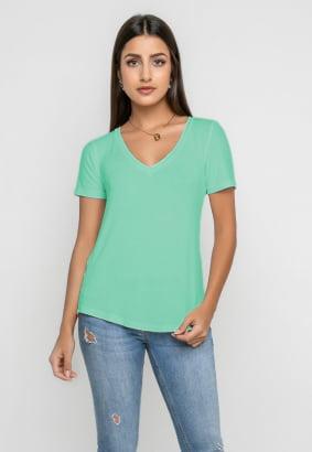 Combo Blusa+Top - Verde Acqua