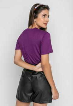 Combo Blusa+Top - Purple