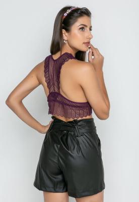 Combo Blusa + Top Renda - Colors