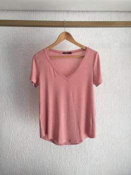 Combo Blusa+Top - Rosé
