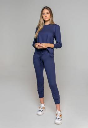 Conjunto Rineli Bless - Azul Marinho