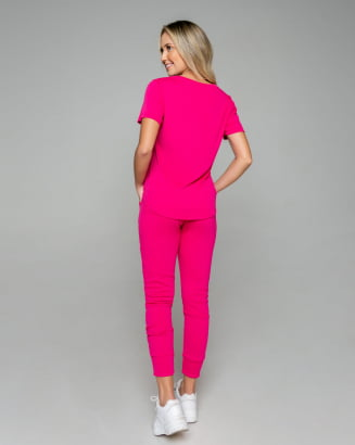 Conjunto Rineli Calça Bless - Pink