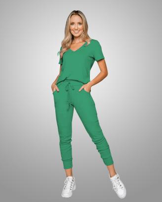Conjunto Rineli Calça Bless - Verde