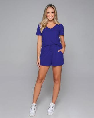 Conjunto Rineli Short Bless - Azul Bic