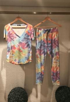 Conjunto Tie Dye - Manga Curta