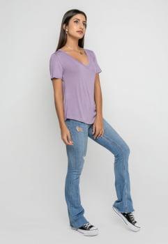 T-shirt Ana - Lavanda