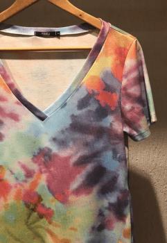T-shirt Rineli Ana - Tie Dye