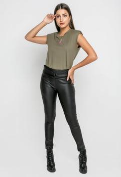 Blusa Rineli Muscle - Verde Militar